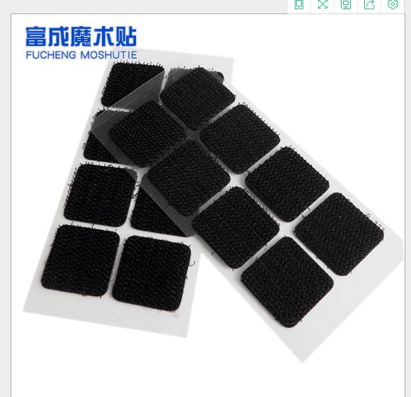 Khóa dán Nhà sản xuất tùy chỉnh màu đen mạnh mẽ Nê - Mu - trừ Long tử ảo thuật dán bề mặt mặt gắn lô