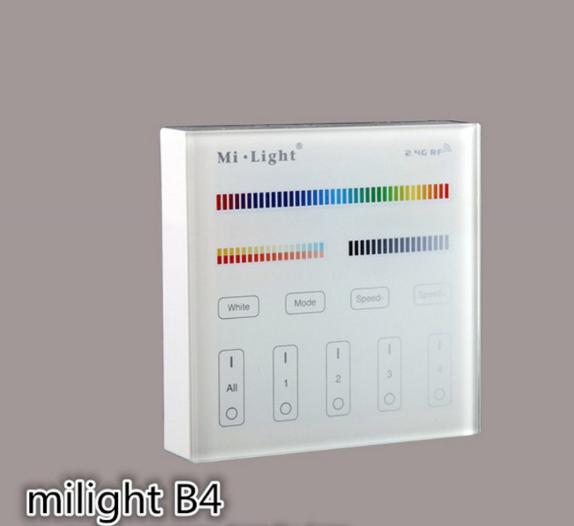 Mi Light nhóm RGB+ nhiệt độ màu điều khiển cả chạm vào thiết bị chỉnh ánh sáng màu Dẫn (pin Edition)