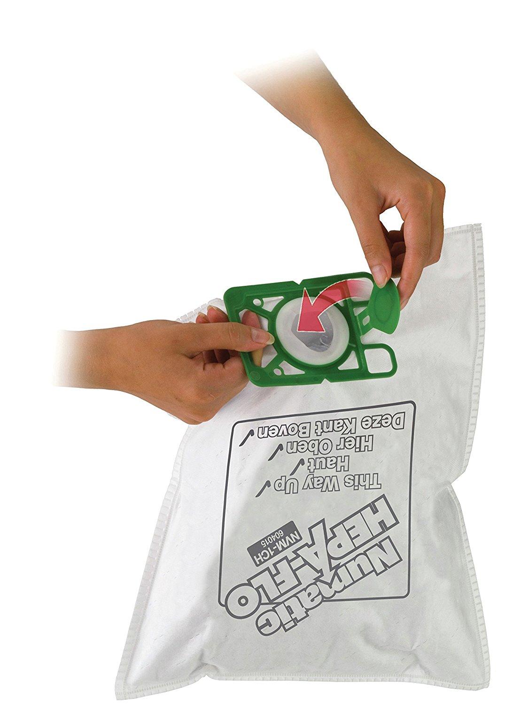 Túi vải không dệt 604016 máy hút bụi bao Numatic HEPA flo NVM - 2bh / - túi áp dụng bộ lọc được áp