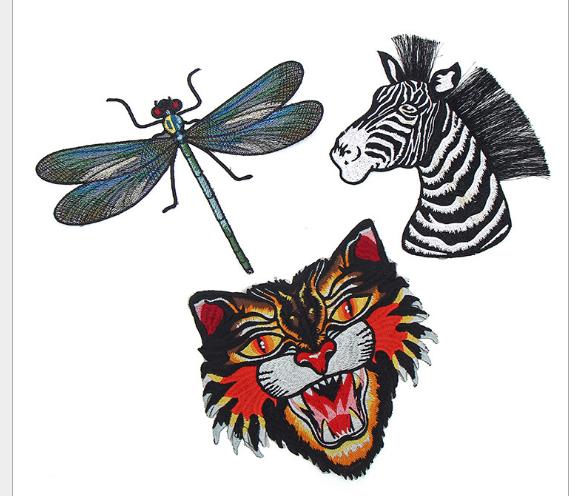 phù hiệu vải  Nhà sản xuất hổ để làm vật avatar vải dán dán trang phục vải trang trí làm nguyên liệu