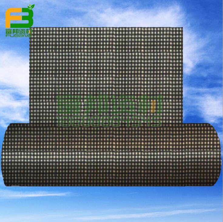 Bạt nhựa Lưới hai tượng Phật Sơn đen 8 nhà máy nông nghiệp bài vải che mưa che nắng khăn vải nhựa vả