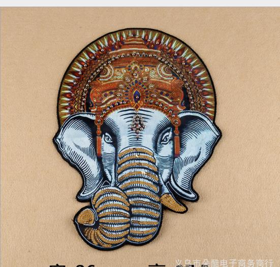 phù hiệu vải  Vải bọc bán buôn tay Đinh châu voi tiệm bán đồ trang phục phụ liệu gió Tây nhà sản xuấ