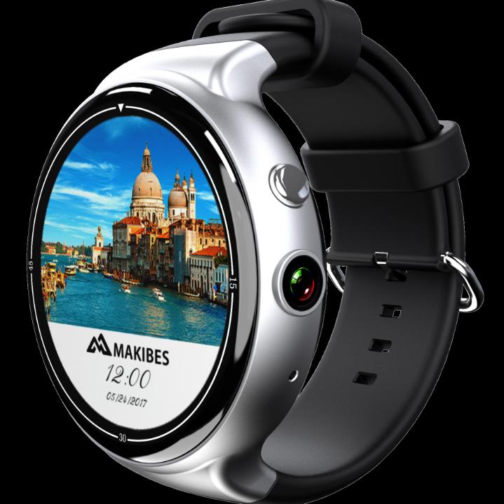 I4Air đồng hồ thông minh 2G+16G khinh bạc cả màn hình tròn 3G tham gia thị trường chứng khoán Wifi N