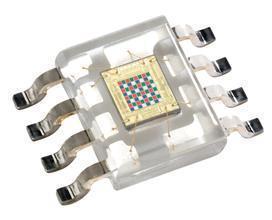 Cảm biến bức xạ bức xạ Cảm biến nhận dạng màu TCS3200D SOP8 AMS TCS230D Thay thế thương hiệu mới đíc