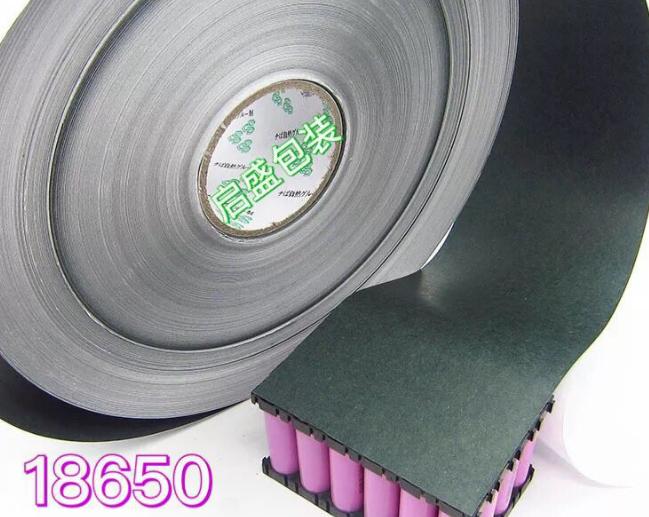 Hiện trường 18650 pin lithium thanh vỏ cách nhiệt lúa mì thanh khoa giấy. Giấy giấy nguyên liệu lúa