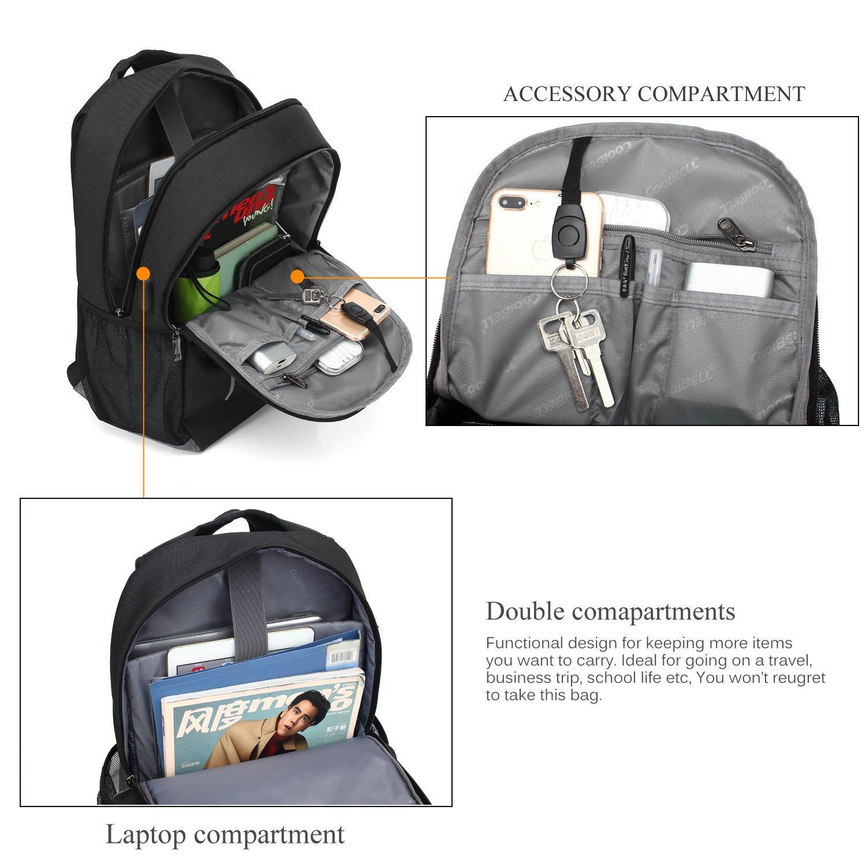 Liên tưởng (Lenovo) Nhiều phòng coolbell balo đưa cổng USB / / / / / / / / túi xách ba lô túi nhỏ 15