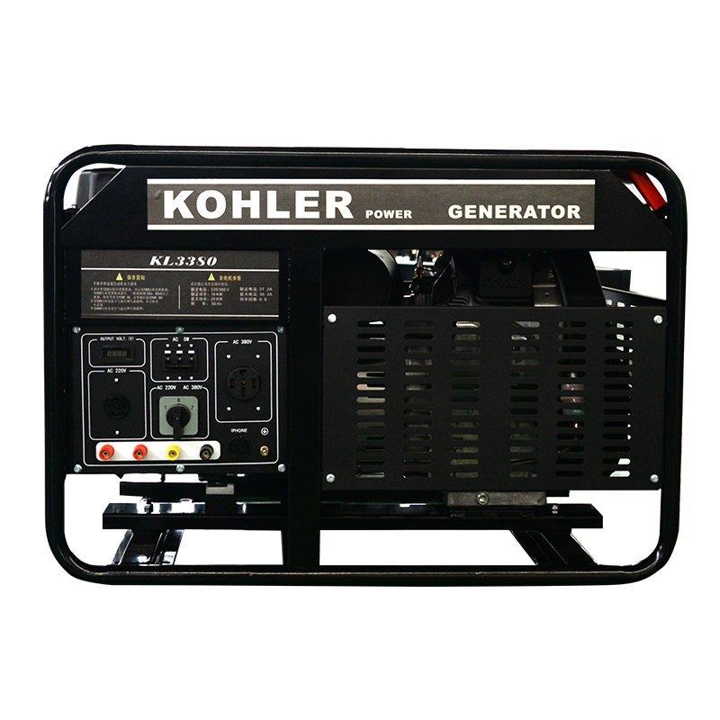 Máy phát điện 18kw xăng máy phát điện gia dụng Small 18 ki - lô - oát ba giai đoạn cả đồng điện khởi
