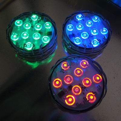 Các loại đèn chuyên dụng khác Chuyên sản xuất đèn dưới nước LED lặn ánh sáng một loạt các thông số k