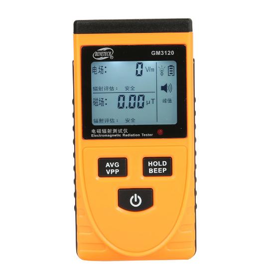 bức xạ điện từ các nhà sản xuất thiết bị phát hiện từ trường GM3120