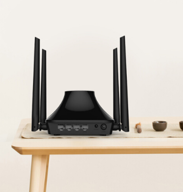 Router ASUS (ASUS) RT-AC51U 750M AC bức xạ thấp bộ định tuyến không dây thông minh.