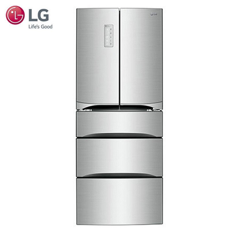 Tủ lạnh  LG GR-K40PJYL (Bạc Titanium rỗng) 402 lít công suất lớn phải mở cửa tủ lạnh tủ lạnh Dommen,