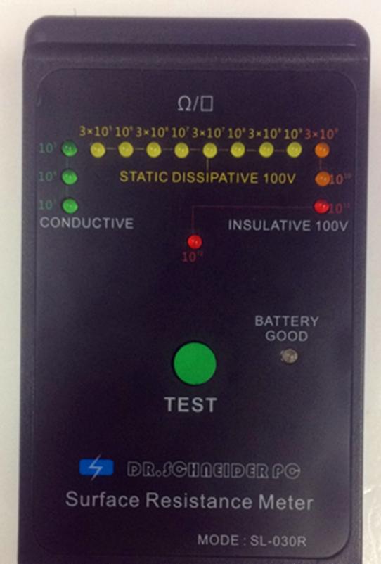 Máy đo điện trở bề mặt SL-030R chống tĩnh điện máy đo trở kháng chống tĩnh điện máy công cụ chống tĩ