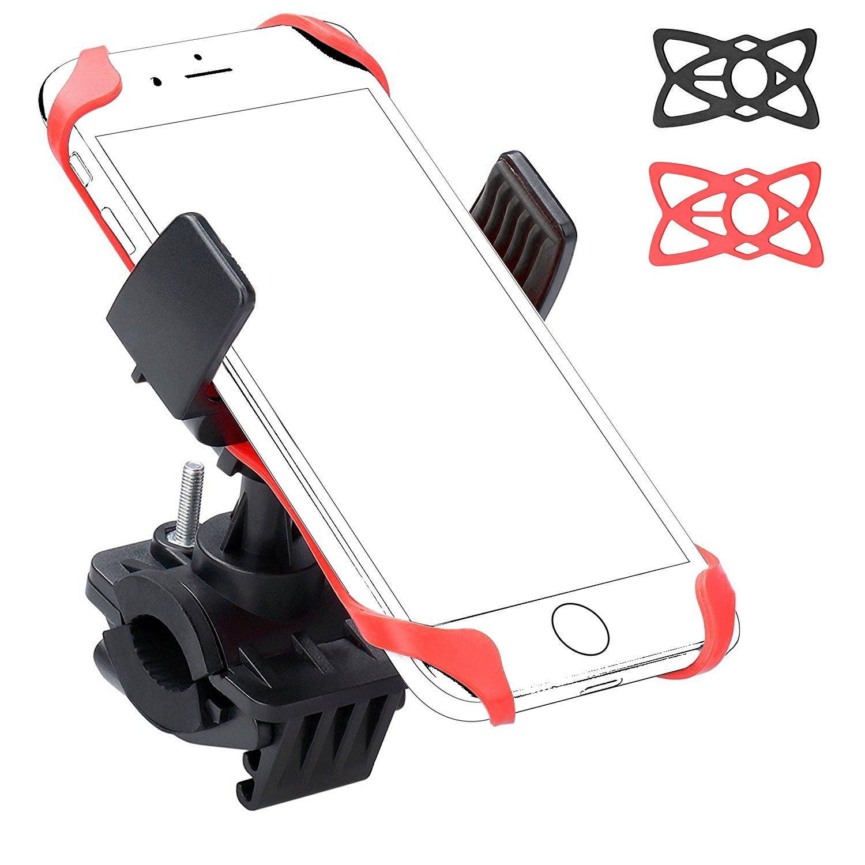 Ailun chung xe đạp điện thoại hỗ trợ FBA khung màu đen.