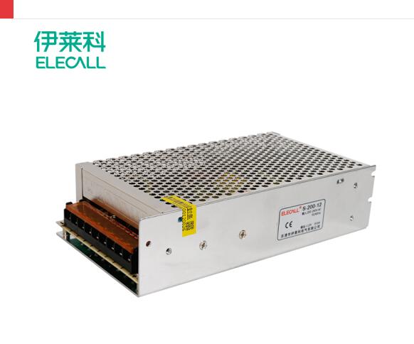 S-200-12 công tắc điện 12V16A DC cặp đèn LED Điện giám sát quay phim cho phù hợp biến áp
