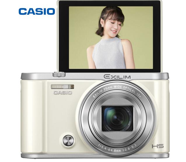 Máy ảnh kỹ thuật số Casio (CASIO) EX-ZR3700 máy ảnh kỹ thuật số (3.0 inch góc rộng 25mm 180 độ trên
