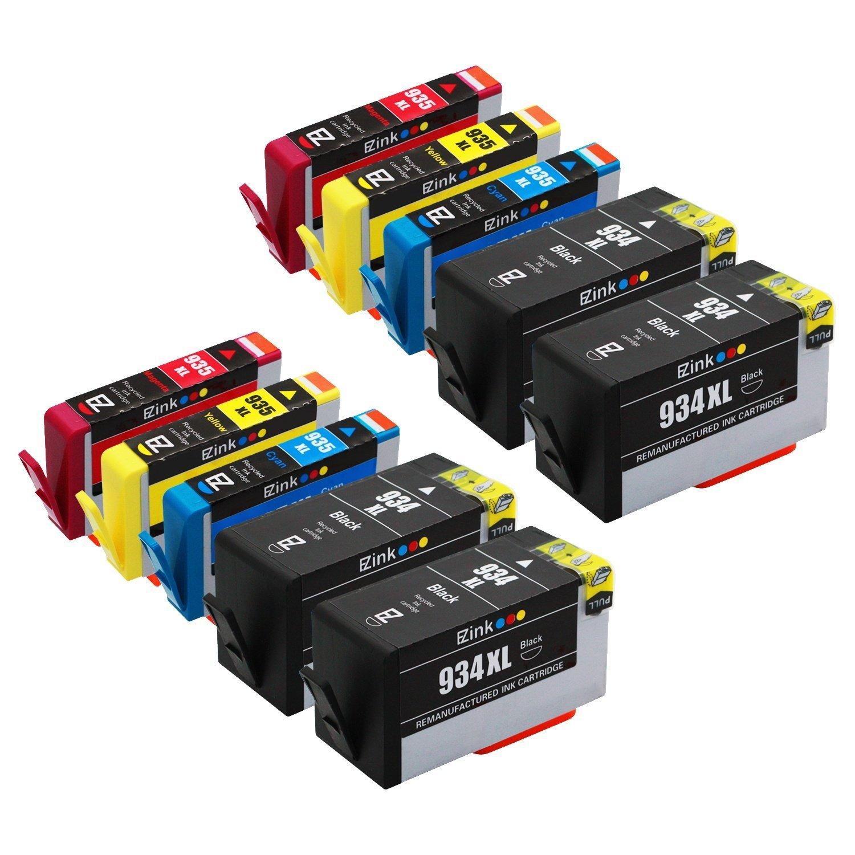 E-Z Ink (TM) tái tạo thay vì hộp HP 934xl 935xl 934 935 XL sản lượng cao (4 đen xanh đỏ, 2, 2, 2 màu