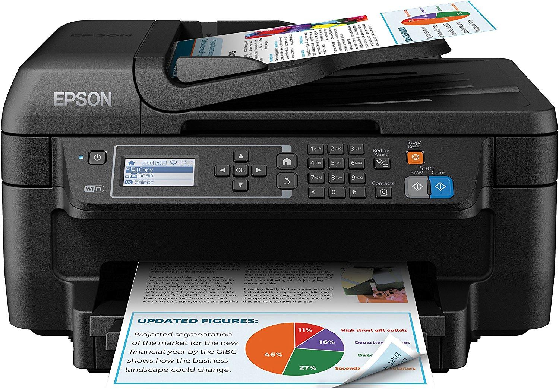 Máy in  Epson Epson WorkForce xinh xắn loại 4 hợp một máy in cho Wi - fi và văn phòng chức năng - đe