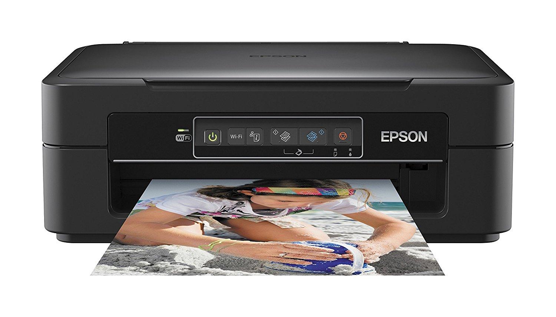 Máy in  Epson Expression Home XP - 235 có nhiều khả năng máy in phun (in, quét, sao chép, 5.760 x 14