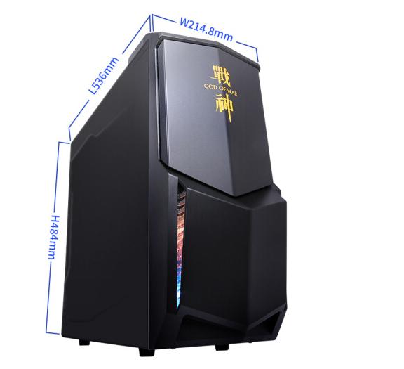 Bảng tạm thần châu (HASEE) K60 D3, máy tính văn phòng thương mại máy (G4600 4G 1T 2G độc hiển PC