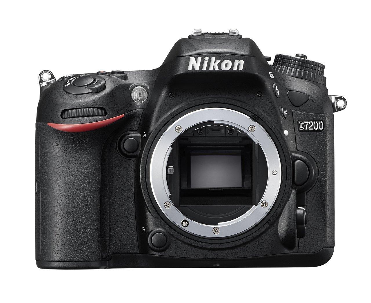 Máy ảnh phản xạ ống kính đơn / Máy ảnh SLR  Nikon Nikon d7200 máy quay mũi máy bay.
