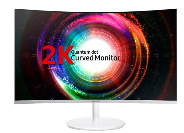 Máy tính màn hình Samsung (SAMSUNG) bề mặt màn hình inch C32H711QE 31.5 QD chấm lượng tử 2K màn hình