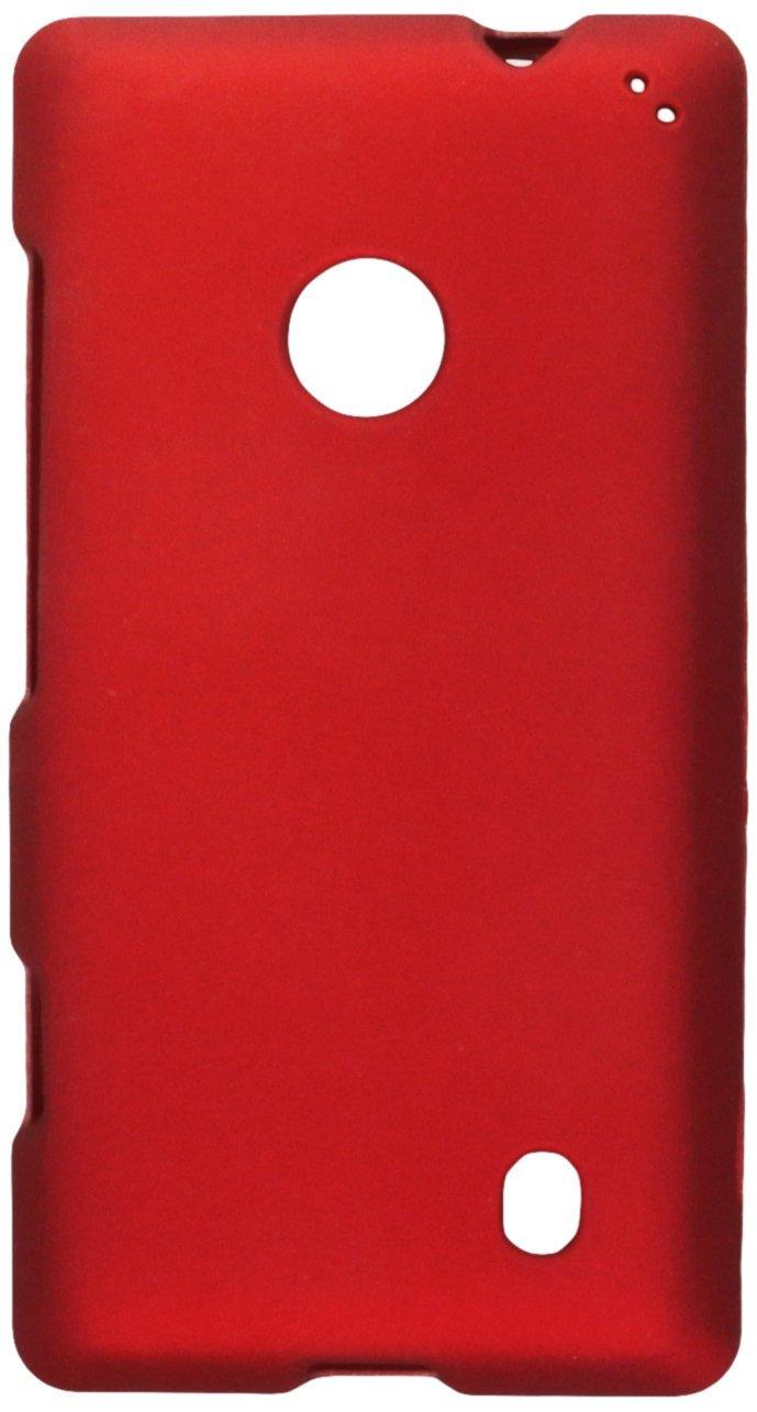 AIMO Wireless Elmo cao su không dây có Slim và bền cao su đỏ Shell Nokia Lumia 521.
