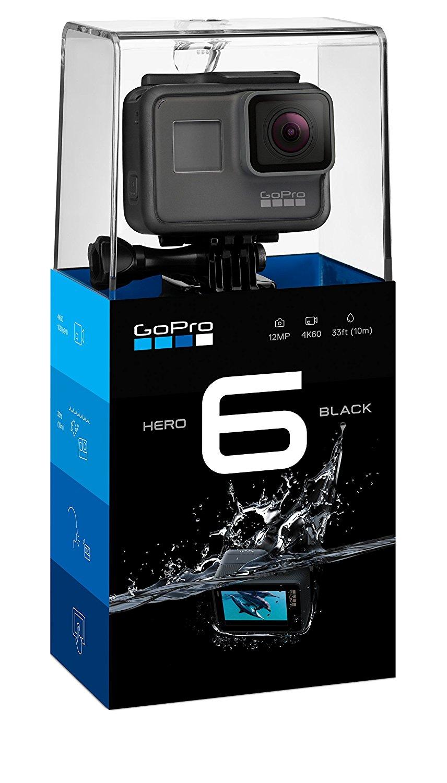 Máy ảnh kỹ thuật số   GoPro hero6 đen máy quay thể thao 4K60 khung thoại kiểm soát phòng chống thấm
