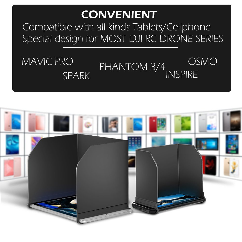 Máy tính để bàn – PC  BTG máy tính bảng điều khiển màn hình điện thoại nắp che được áp DJI MAVIC PRO
