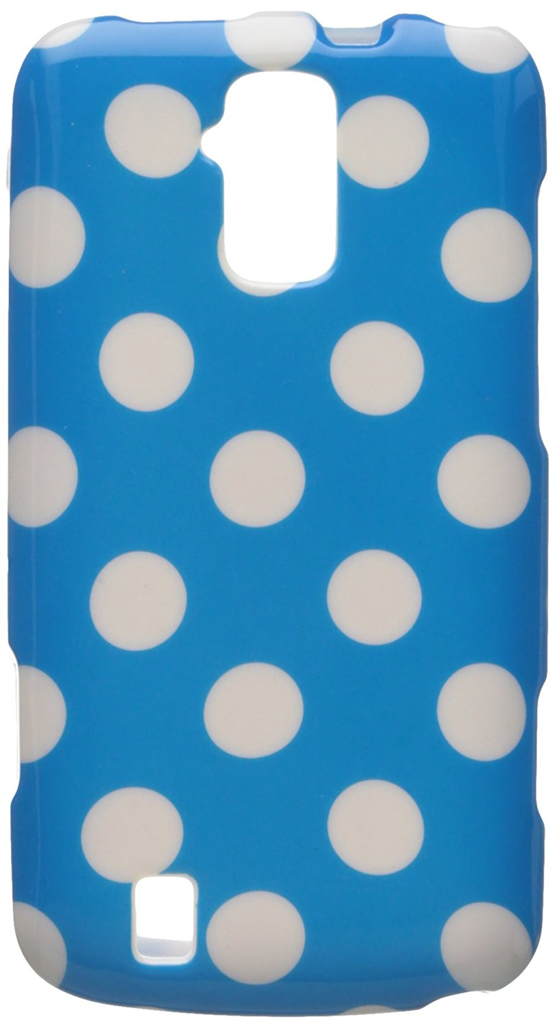 Aimo ZTEN9100PCPD302 Cute Polka dot cứng Snap-On Protective case for You ZTE Force N9100 - Retail Pa