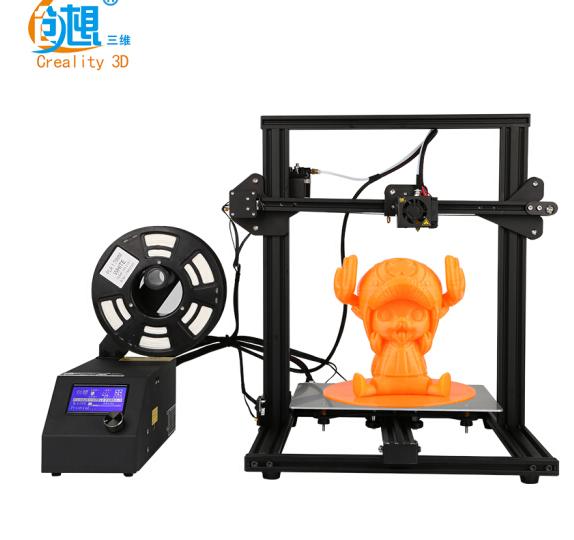 máy in 3D 3 chiều CR-10mini xách tay nhỏ gia đình ảnh ba chiều trường giáo dục ba máy in D đen đặt c