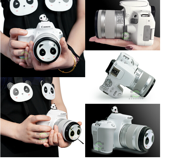 Canon EOS 200D (Canon) camera (EF-S 18-55mmf4- 5,6) màu trắng phiên bản nữ thần.