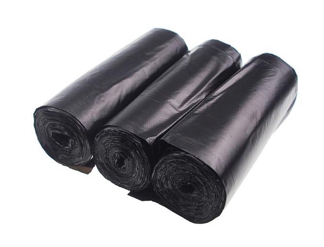 Nhựa phế RED loại xách tay áo túi rác dày của 90 chỉ 50cm*60cm*30 đen chỉ *3 Vol.