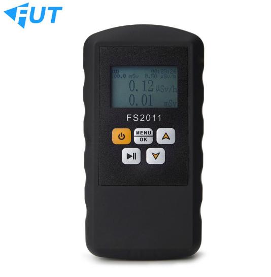 Bức xạ hạt nhân phát hiện thiết bị xy thử nghiệm đo liều bức xạ tia phóng xạ gọi cảnh sát nghi FS201