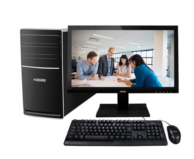 Bảng tạm thần châu (HASEE) K80-KL3 D1 máy tính văn phòng thương mại (i3-7100 8G 1T GT730 2G một