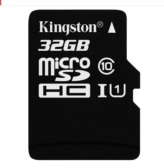 Kingston (Kingston 32GB TF) 80MB / s (thẻ nhớ SD.) hạng 10 UHS - I không thấm nước kháng chấn lưu tr