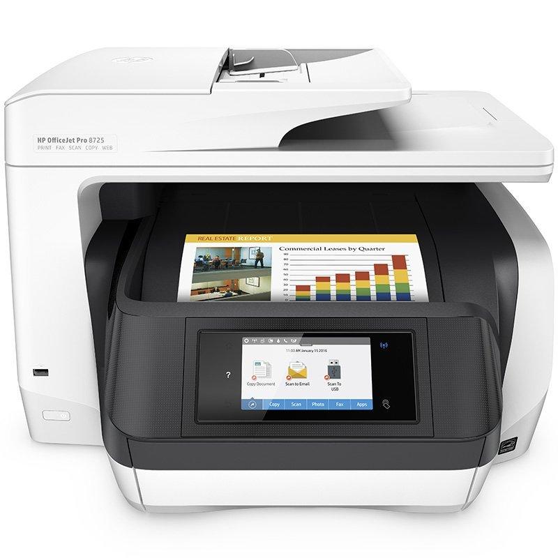 Máy in  HP Hewlett - Packard OfficeJet Pro 8720 màu một văn phòng máy