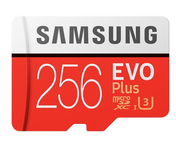 Samsung (SAMSUNG) được lưu trữ 256GB đọc thẻ 100MB/s tốc độ viết tốc độ 90MB/s 4K Class10 tốc độ cao