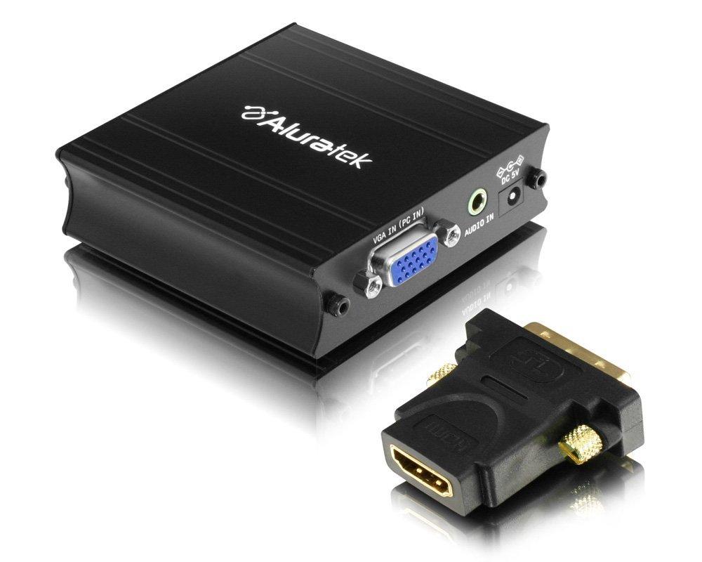 Aluratek avh100 ° F VGA xoay chuyển đổi HDMI adapter
