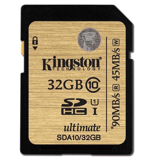 Kingston (Kingston 32GB của SD / s) 90mb hạng 10 UHS - tốc độ cất giữ đất thẻ