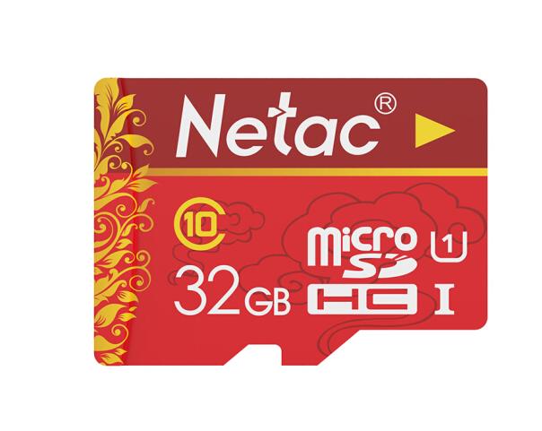 (Netac) 32G Class10 bộ nhớ điện thoại thẻ phòng điều tra cháy nổ (micro-SD) thẻ xe cẩu ghi lưu trữ t