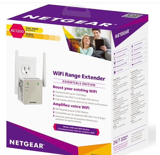 Mỹ điều (NETGEAR) EX6120 mạng không dây AC1200M Expander
