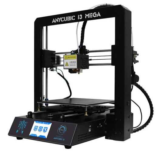 Anycubic 3 chiều máy in i3 khổng lồ toàn kim loại chuẩn công nghiệp cho độ chính xác cao màu đen cuộ