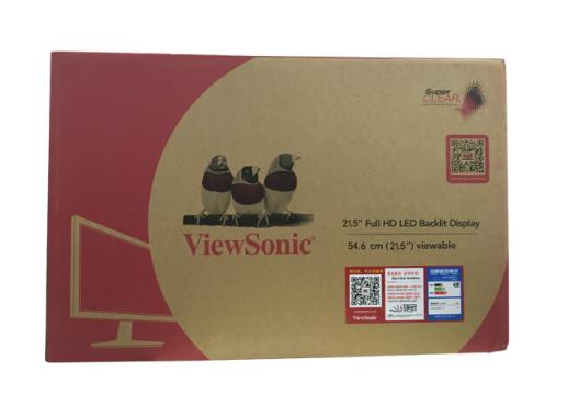 Màn hình LED ViewSonic (ViewSonic) 21.5 AH-IPS cứng inch màn hình rộng màn hình và màn hình máy tính