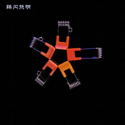 Đèn LED và các phụ kiện khác Đèn Led và phụ kiện với 65 túi Mangan nhựa mùa xuân khác nhau khóa