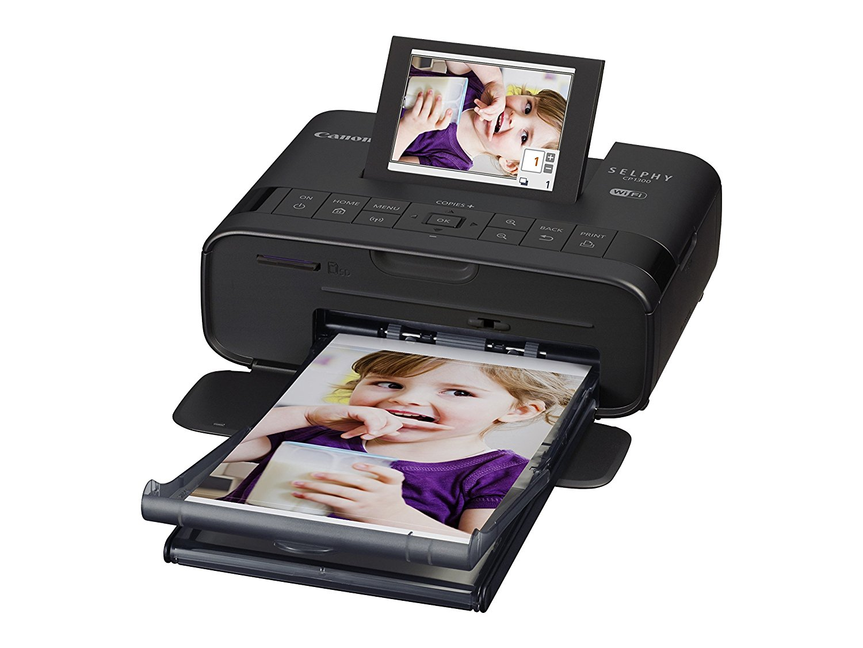 Máy in  Canon SELPHY cp1300 COMPACT – đen máy in ảnh chụp