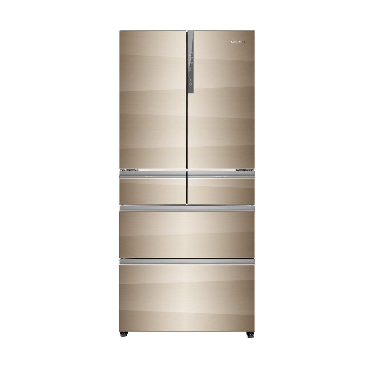 Tủ lạnh  Casarte CASA đế BCD-519WICAU1 519 lên 6 cửa tủ lạnh tủ lạnh nhúng tự do thay đổi tần số