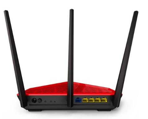 Router lên cao AC18 1900M 5G đôi thông minh không dây cáp điện router WiFi toàn bức xạ thấp đi xuyên