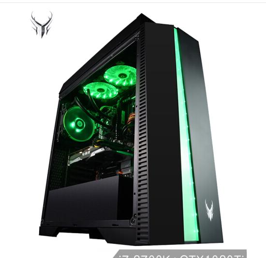 Bảng tạm người mua rồng J708 ăn gà máy trò chơi máy tính (i7-8700K 16G Z370 240G SSD+1TB GTX1080