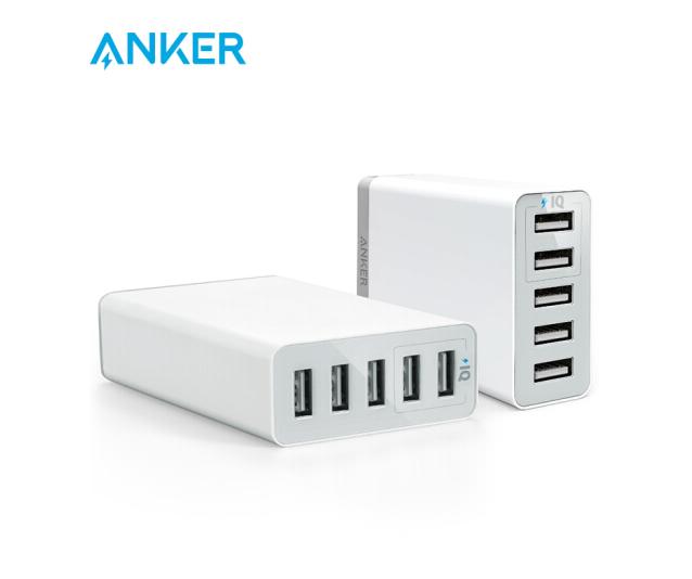 Anker Ann gam 25W 5 khẩu USB Apple sạc điện thoại / sạc / sạc điện đầu /USB adapter Apple Android hỗ