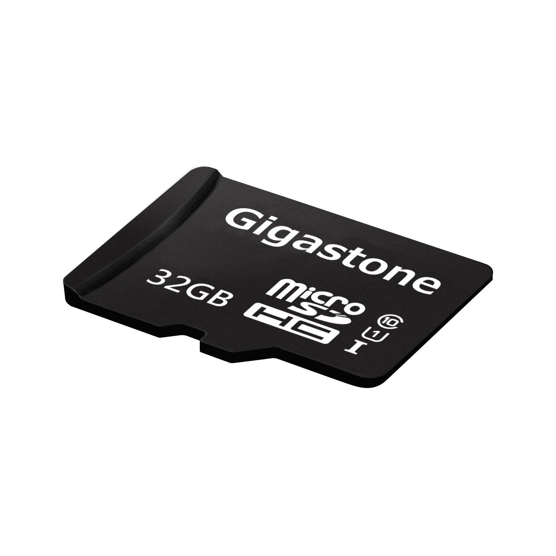 Gigastone nhỏ với 32GB adapter SD C10 U1 thẻ SD.